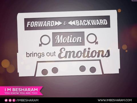 Forward And Backward Motion Brings Out Emotions