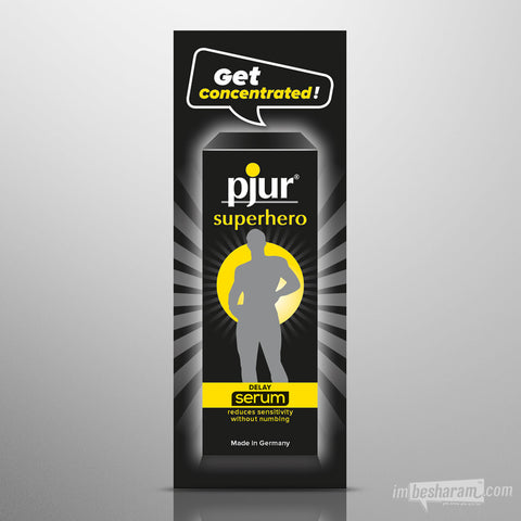 Pjur Superhero Delay Serum - 1.5ml (pillow-pack)