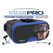 Virtual Reality DreamVision Pro Headset with Built-in Ear Buds