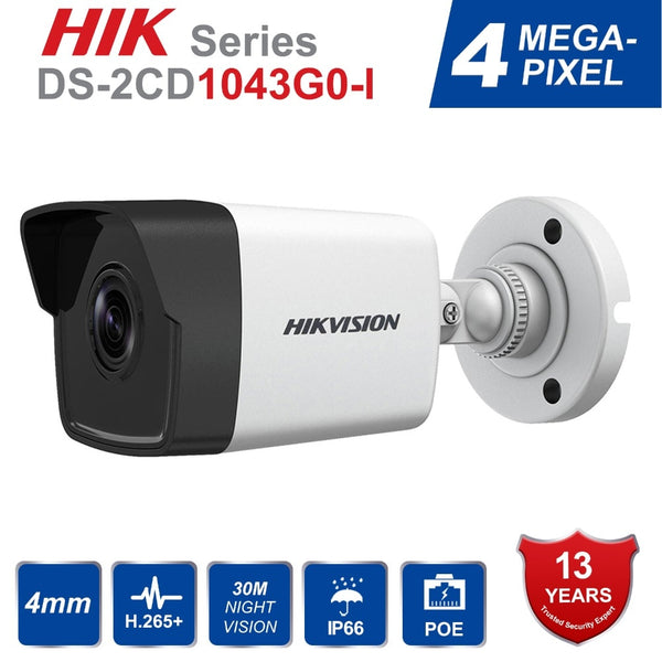 Hik English Bullet IP Camera DS-2CD1043G0-I 4MP CMOS 1080P Full HD Security IP Camera Onvif Replace DS-2CD1041-I Ships from China