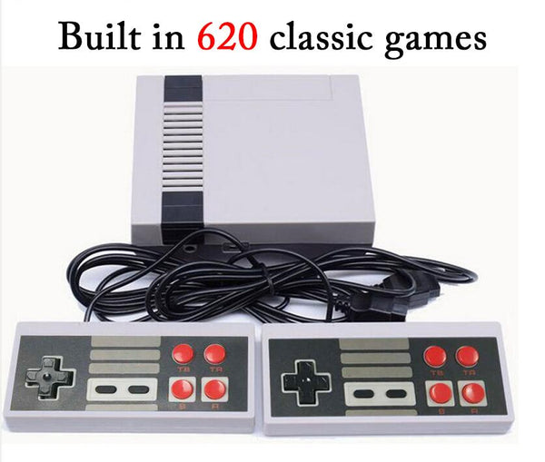 5PCS/10PCS Mini Family TV Retro Handheld Game Console Video Game Console to Tv 8 Bit Game With 620 classic Games Double Gamepads