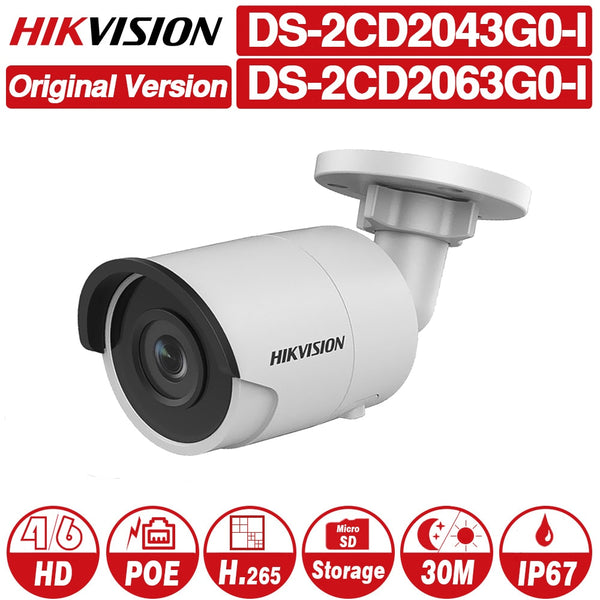 Video Surveillance Hik 8mp Cctv Camera Updateable Ds-2cd2085fwd-i Ip Camera High Resoultion Wdr Poe Bullet Security Camera With Sd Card Slot Security & Protection