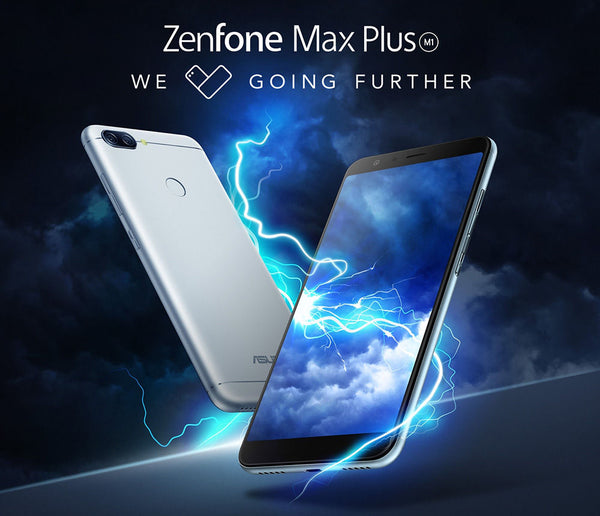 Global  Asus Zenfone Max Plus (M1) ZB570TL  5.7inch Mobile phone 18:9 FHD+3GB 32GB MT6750T Octa Core 4130mAh  Smartphone
