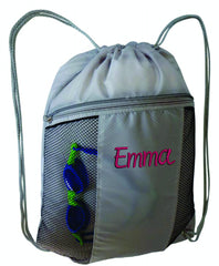 Personalised Zip Sports Bag