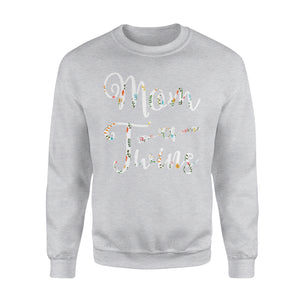 Mom Of Twins - Premium Fleece Sweatshirt