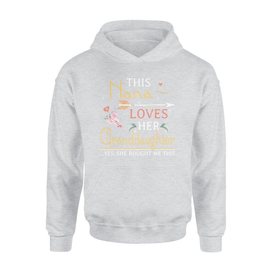 This Nana Loves Her Granddaughter - Premium Hoodie