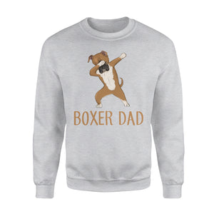 Dabbing Boxer Dad - Premium Fleece Sweatshirt