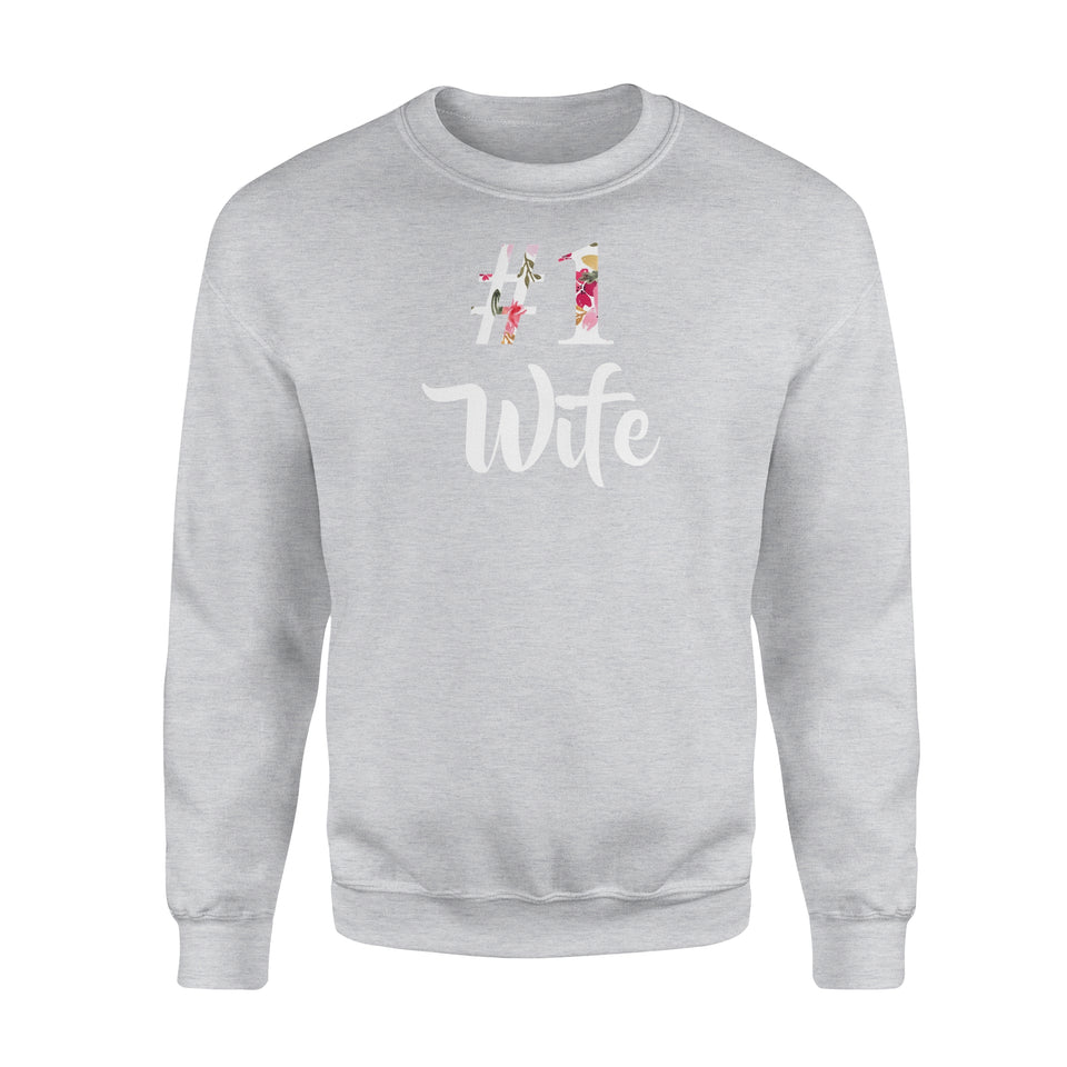 Number One Wife - Premium Fleece Sweatshirt