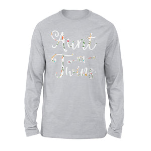 Aunt Of Twins - Premium Long Sleeve