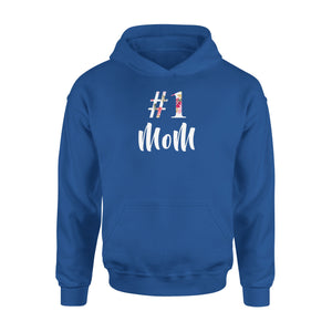 Number One Mom - Premium Hoodie