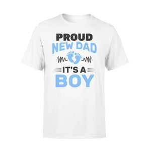 Proud New Dad It's A Boy - Premium T-shirt