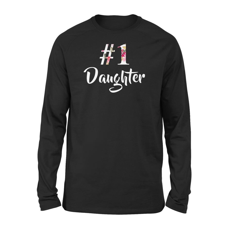Number One Daughter - Premium Long Sleeve