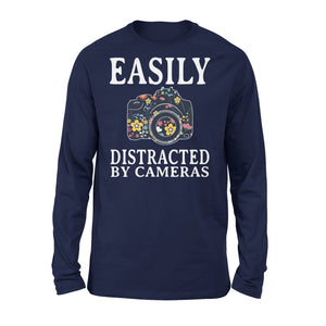 Easily Distracted By Cameras - Premium Long Sleeve