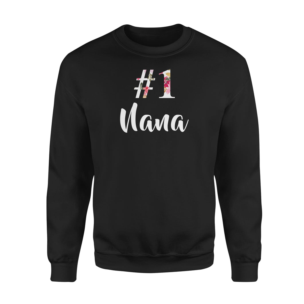 Number One Nana - Premium Fleece Sweatshirt
