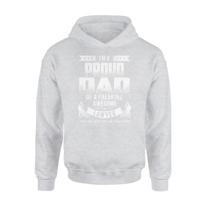 I'm A Proud Dad Of A Freaking Awesome Lawyer - Premium Hoodie