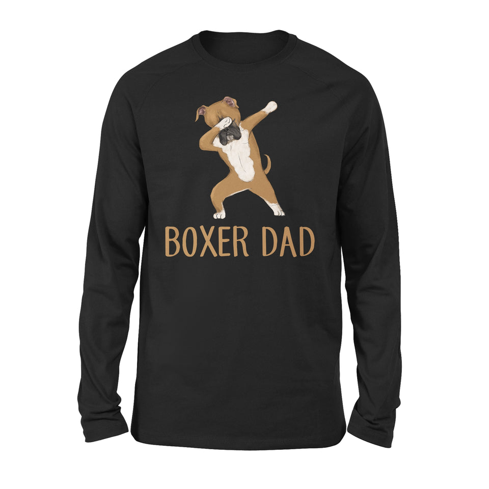 Dabbing Boxer Dad - Premium Long Sleeve