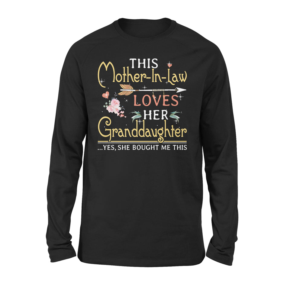 This Mother-In-Law Loves Her Granddaughter - Premium Long Sleeve
