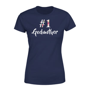 Number One Godmother - Premium Women's Tee
