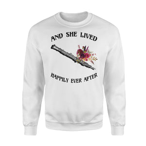 And She Lived Happily Ever After - Oboe - Premium Fleece Sweatshirt