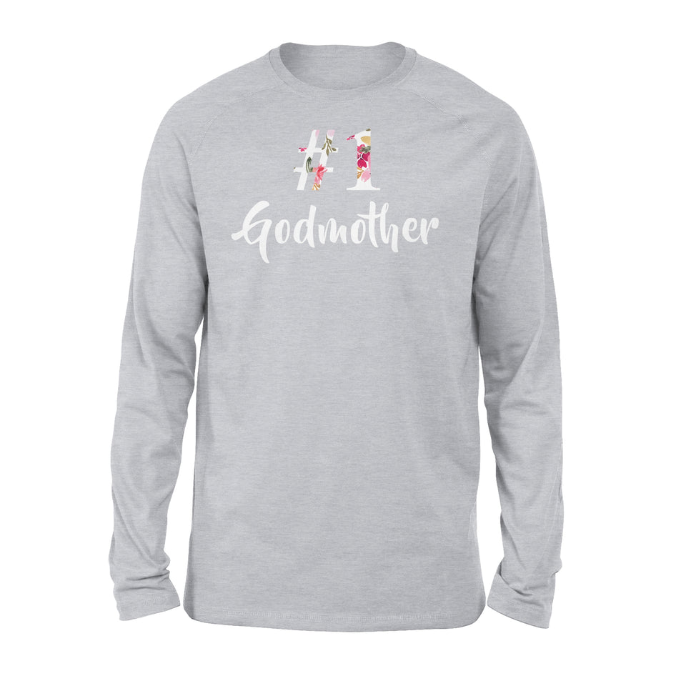 Number One Godmother - Premium Long Sleeve