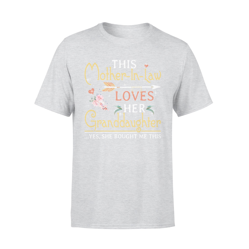 This Mother-In-Law Loves Her Granddaughter - Premium Tee
