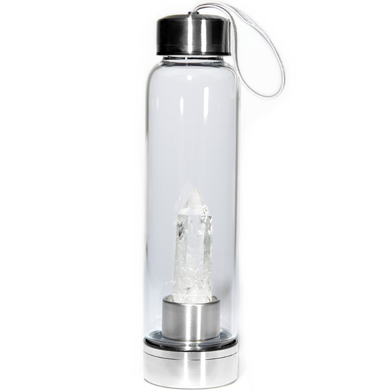Clear Quartz Elixir Bottle - Spiritual Nexus
