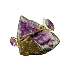 Load image into Gallery viewer, Amethyst Facial Roller - Spiritual Nexus