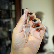 Load image into Gallery viewer, Clear Quartz Pendulum - Spiritual Nexus