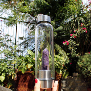 Amethyst Elixir Bottle - Spiritual Nexus