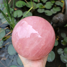 Load image into Gallery viewer, Rose Quartz Sphere - Spiritual Nexus