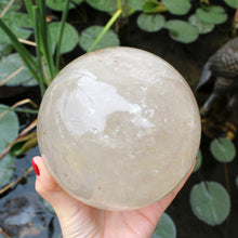 Load image into Gallery viewer, Clear Quartz Sphere - Spiritual Nexus