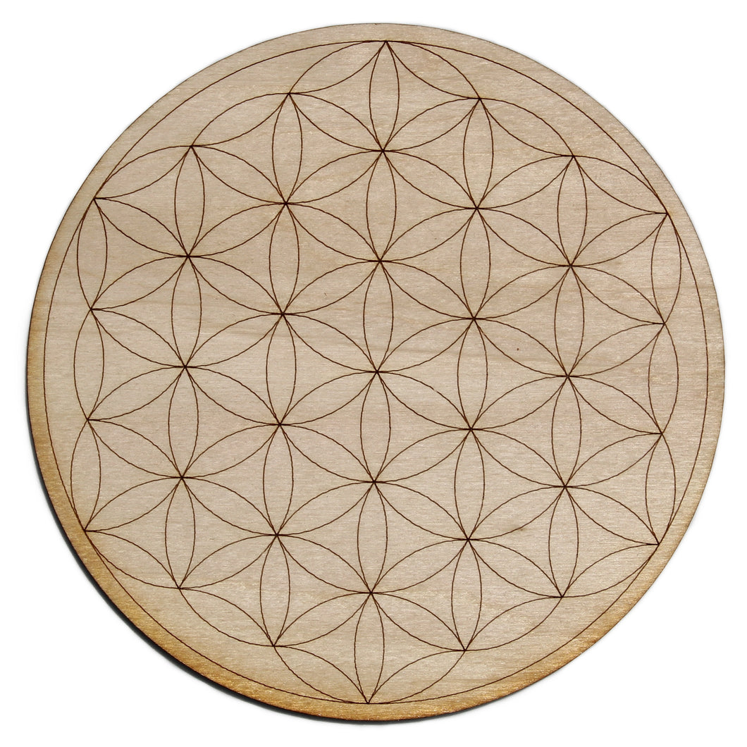 Flower of Life Crystal Grid - Spiritual Nexus