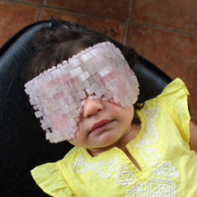 Load image into Gallery viewer, Rose Quartz Eye Mask - Spiritual Nexus