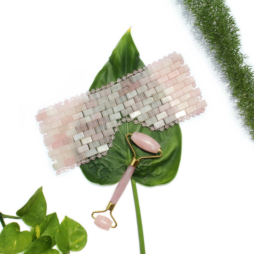 Rose Quartz Eye Mask - Spiritual Nexus