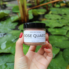 Load image into Gallery viewer, Rose Quartz Facial Mask - 2oz - Spiritual Nexus