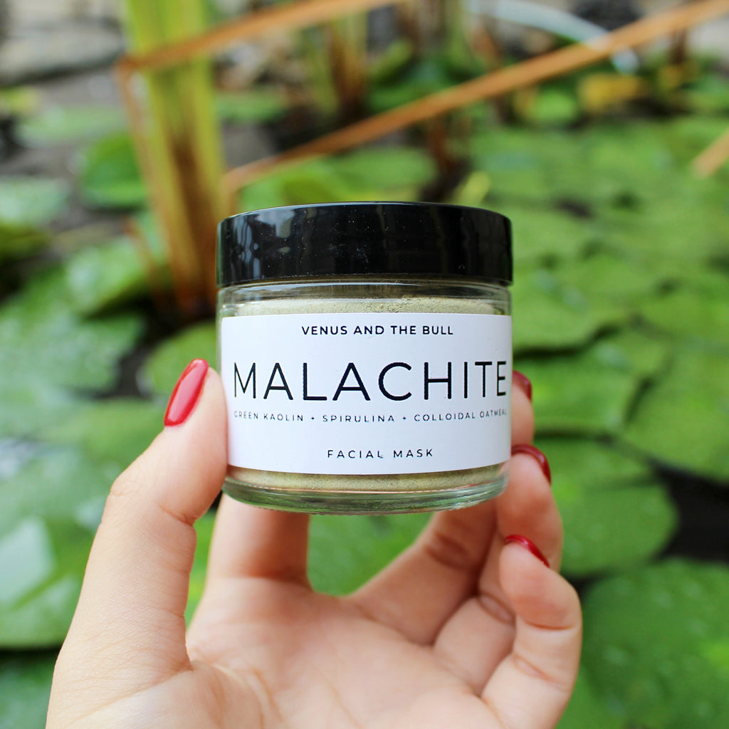 Malachite Facial Mask - 2oz - Spiritual Nexus
