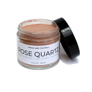Rose Quartz Facial Mask - 2oz - Spiritual Nexus