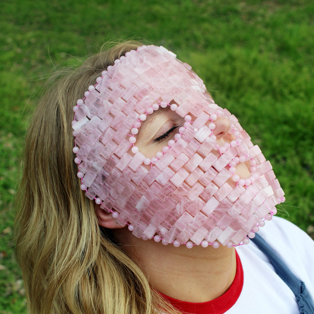 Rose Quartz Facial Mask