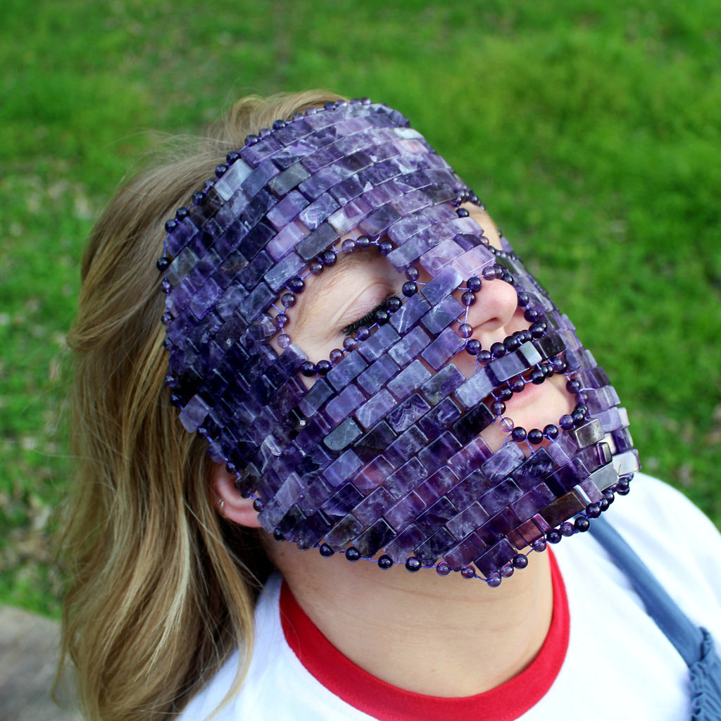 Amethyst Facial Mask
