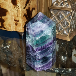 Fluorite Tower - Spiritual Nexus