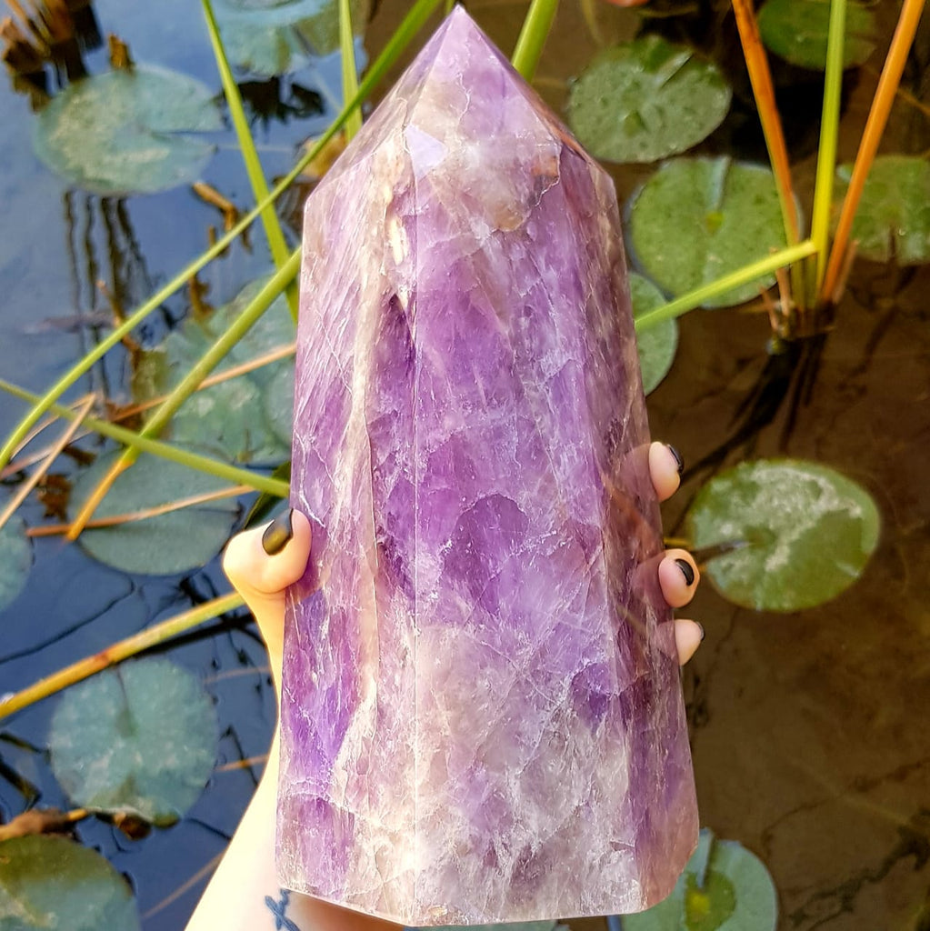 Amethyst Tower - Spiritual Nexus