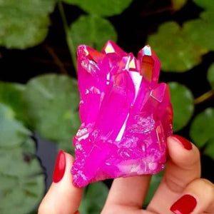 Rose Aura Quartz - Spiritual Nexus