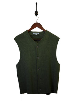 1990s Emporio Armani Knitted Waistcoat - M/L