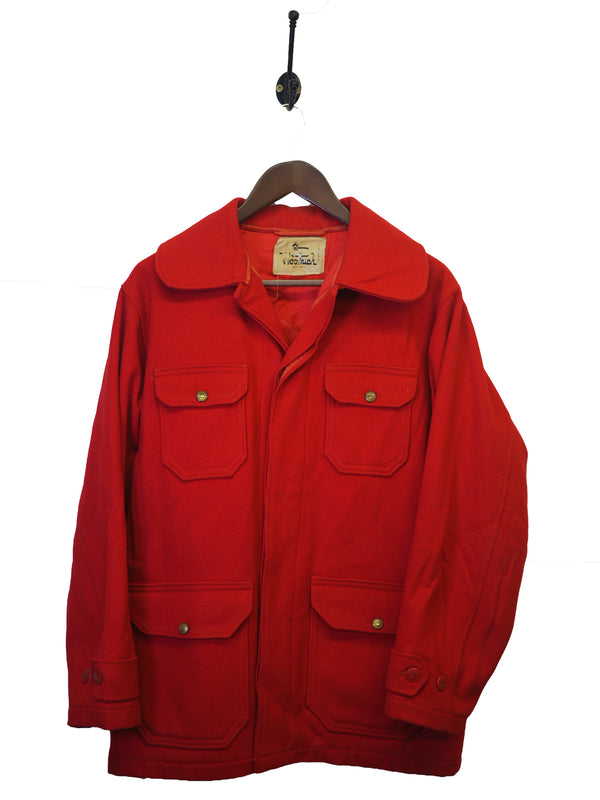 1960s Woolrich Mackinaw Coat - M/L