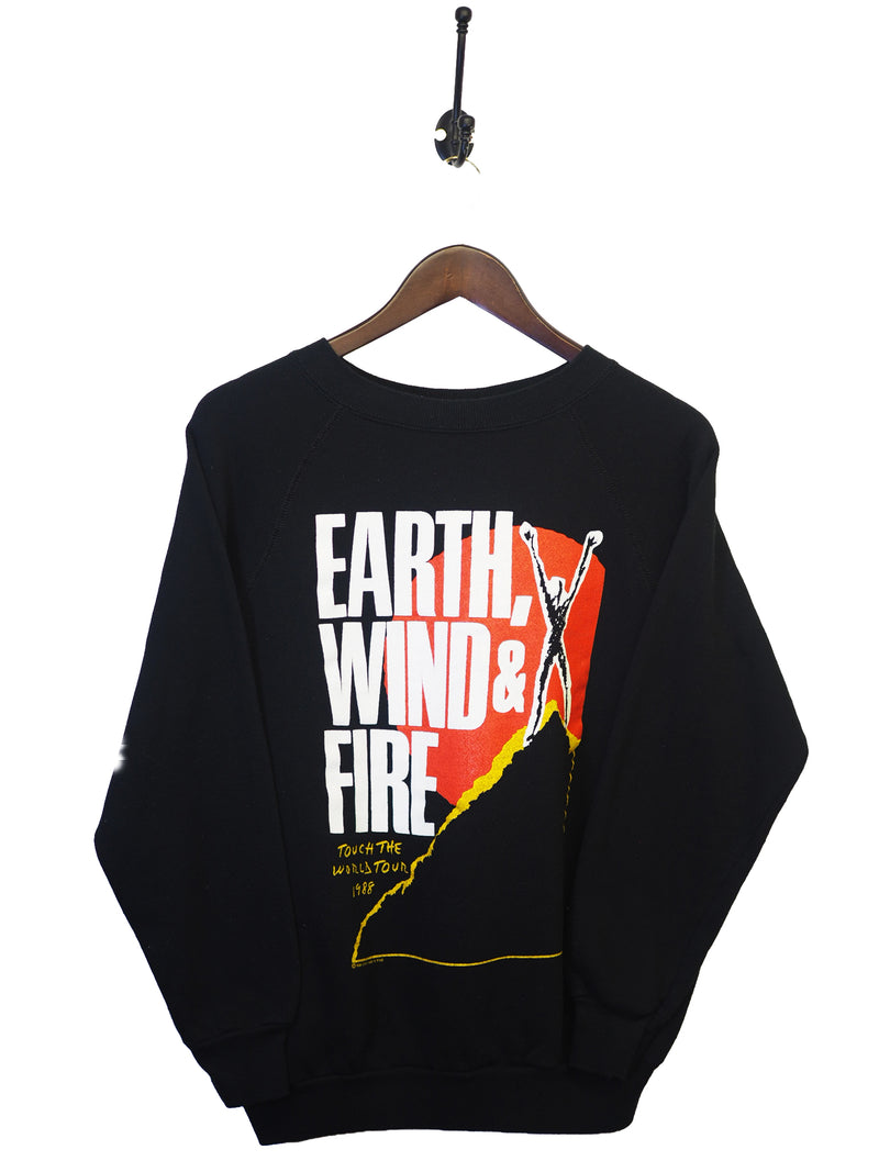 1988 Earth Wind & Fire Tour Sweatshirt - M