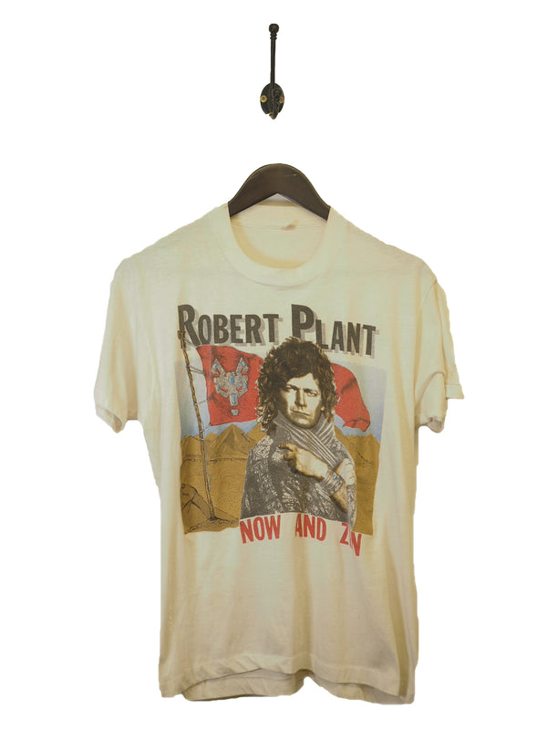 1988 Robert Plant Now And Zen Swan Song T-Shirt - M