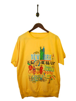 1988 New York Tourist T-Shirt - L