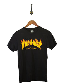 1990s Thrasher T-Shirt - XS