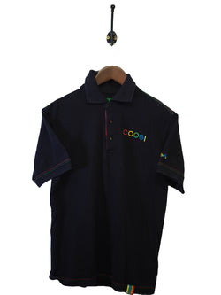 2000s Coogi Polo Shirt - M