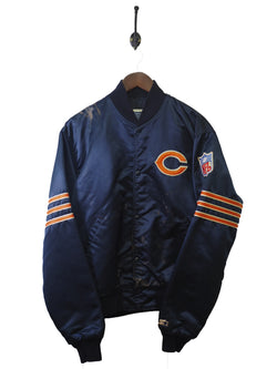 1990s Cubs Baseball Jacket - L